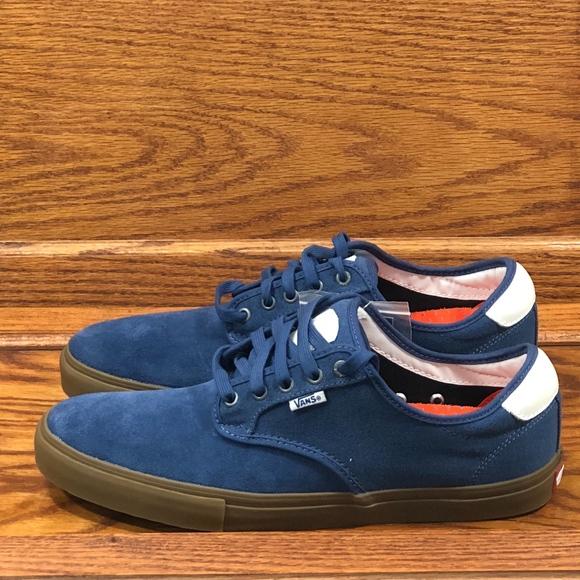 f5e363620b773c  Vans Chima Ferguson Pro Covert Twill Blue Gum
